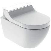 Geberit AquaClean Tuma Comfort - WC-Komplettanlage Wand-WC Glas weiß