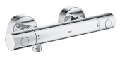 Grohe Grohtherm 800 Cosmopolitan - Thermostat-Brausebatterie Wandmontage chrom