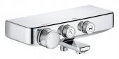 GROHE Grohtherm SmartControl - Aufputz-Wannenthermostat für 2 Verbraucher chrom