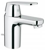 Grohe Eurosmart Cosmopolitan - Einhand-Waschtischbatterie S-Size mit Ablaufgarnitur chrom