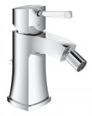 Grohe Grandera - Einhand-Bidetarmatur mit Ablaufgarnitur chrom