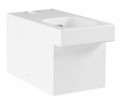 rohe Cube - Stand-WC-Kombination PureGuard ohne Spülkasten weiß