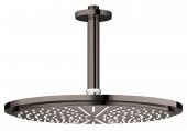 Grohe Rainshower Cosmopolitan - Kopfbrauseset 310 Deckenauslass 142 mm hard graphite