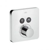 Hansgrohe Axor Cetterio M - ShowerSelect Thermostat Unterputz 2 Verbraucher chrom