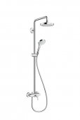 Hansgrohe - Croma Select S 180 2jet Showerpipe mit Einhebelmischer