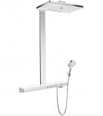 Hansgrohe Rainmaker Select - Showerpipe 460 3jet weiß / chrom