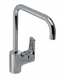 Ideal Standard CERAPLAN III - Single lever kitchen mixer with swivel spout chrom