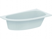 Ideal Standard HOTLINE NEU - Roomsaving bathtub 1600 x 900mm hvid