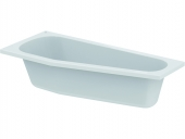 Ideal Standard HOTLINE NEU - Roomsaving bathtub 1600 x 700mm hvid