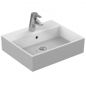 Ideal Standard Strada - Washbasin for Furniture 500x420mm with 1 tap hole with overflow hvid with IdealPlus