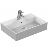 Ideal Standard Strada - Washbasin for Furniture 600x420mm with 1 tap hole with overflow hvid with IdealPlus