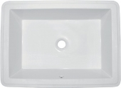 Ideal Standard Strada - Undercounter washbasin 590x435mm without tap holes with overflow hvid without IdealPlus