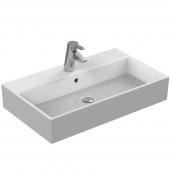 Ideal Standard Strada - Washbasin for Furniture 710x420mm with 1 tap hole with overflow hvid with IdealPlus