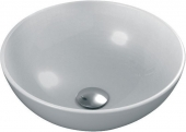 Ideal Standard Strada O - Countertop Washbasin for Console 410x410mm without tap holes without overflow hvid with IdealPlus