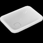 Ideal Standard Tonic II - Schale asymmetrisch ohne Hahnloch ohne Überlauf 550 x 400 x 150 mm weiß