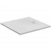 Ideal Standard Ultra Flat S - Rechteck-Brausewanne 1000 x 1000 x 30 mm carraraweiß
