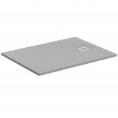 Ideal Standard Ultra Flat S - Rechteck-Brausewanne 1600 x 800 x 30 mm quarzgrau
