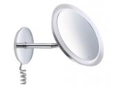 Keuco Bella Vista - Cosmetic mirror 3x magnification with lighting chrom