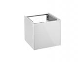 Keuco Royal Reflex - Vanity unit 34040, hinged left, 1 door, white / white