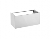 Keuco Royal Reflex - Vanity unit 34070, front pull, anthracite / anthracite