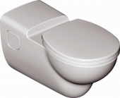 Ideal Standard Contour - Wall Hung Washdown WC without flushing rim hvid with IdealPlus