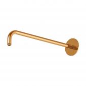 Steinberg Series 100 - Brausearm Wandmontage 450mm mit verstärkter Wandhalterung rose gold