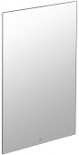 Villeroy & Boch MORE TO SEE - Mirror without lighting 450mm silver anodised / mirrored