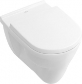 Villeroy & Boch O.novo - Wall-mounted washout toilet uden DirectFlush hvid utan CeramicPlus