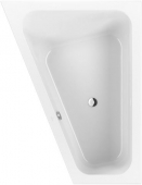 Villeroy & Boch Loop & Friends - Bathtub 1750 x 1350mm hvid