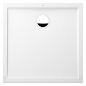 Villeroy & Boch Futurion Flat - Shower tray firkantet 900x900 hvid without antislip