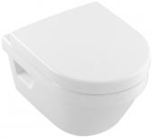 Villeroy & Boch Architectura - Tiefspül-WC spülrandlos Compact 350 x 480 mm DirectFlush weiß alpin