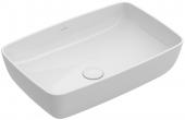 Villeroy & Boch Artis - Aufsatzwaschtisch 580 x 380 mm stone white mit CeramicPlus