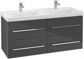 Villeroy & Boch Avento - Waschtischunterschrank 1180 x 514 x 452 mm crystal grey