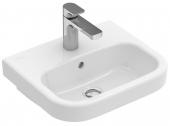 Villeroy & Boch Architectura - Handwaschbecken 450 x 380 mm mit Überlauf weiß alpin C+