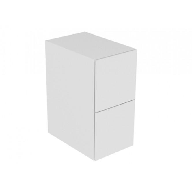 Keuco Edition 11 - Sideboard 2 Frontauszüge cashmere / Glas cashmere sat