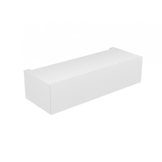 Keuco Edition 11 - Base cabinet 31313, 1 pan drawer., With lighting, w.hochgl / w.hochgl.