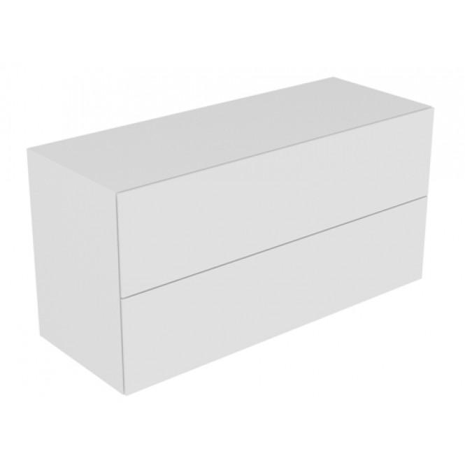 Keuco Edition 11 - Sideboard 31327 Beleuchtung 2 Front-Auszüge cashmere / Glas cashmere satiniert