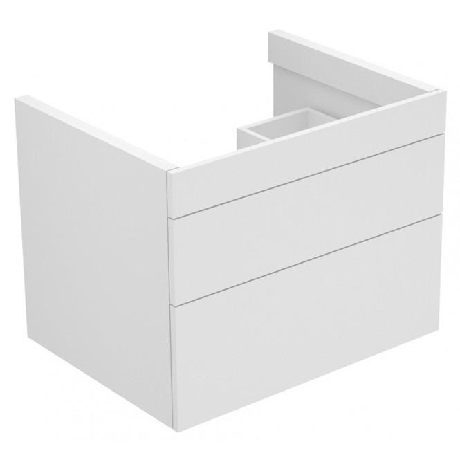 Keuco Edition 400 - Waschtischunterbau 2 Frontauszüge eiche cashmere / eiche cashmere