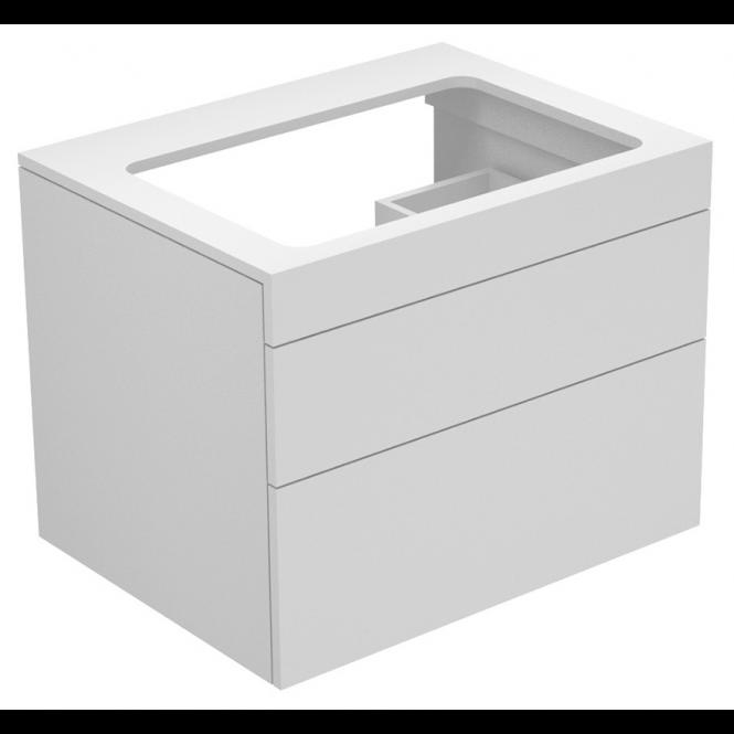 Keuco Edition 400 - Waschtischunterbau weiß / weiß