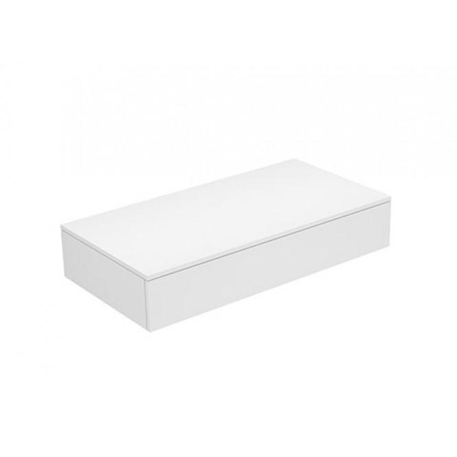 Keuco Edition 400 - Sideboard 1 Auszug cashmere / Glas cashmere klar
