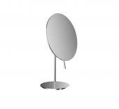 Emco Universal - Rasier- und Kosmetikspiegel Standmodell 3-fach rund 200 mm chrom