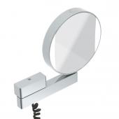 Emco Universal - LED Rasier- und Kosmetikspiegel mit 3- und 7-facher Vergrößerung chrom