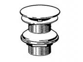 Keuco Armaturenzubehör - Non-closable valve for washbasin without overflow krom