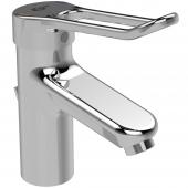 Ideal Standard CeraPlus 2 - Waschtischarmatur mit Ablaufgarnitur Ausladung 112 mm chrom