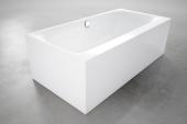 Bette BetteLux - Silhouette Side Badewanne 1700 x 850 Stahl-Email weiß