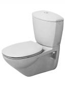 Duravit Duraplus - Wand-WC PracticaCascade 650 x 365 mm