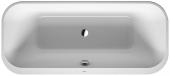 Duravit Happy D.2 Plus - Badewanne 1800x800 mm freistehend mit Verkleidung weiß/graphit matt