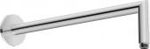 Duravit Universal - Brausearm abgewinkelt L352 rund schwarz matt