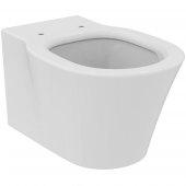 Ideal Standard Connect - Wand-Tiefspül-WC AquaBlade 365 x 540 x 340 mm weiß mit Ideal Plus