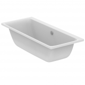 Ideal Standard Tonic II - Duo-Badewanne mit Ablauf mit Füller 1800 x 800 x 490 mm weiß